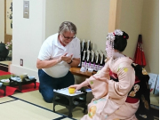 playing parlor games with a maiko