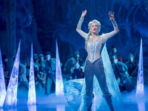 ブロードウェイ・ミュージカル・チケット予約「アナと雪の女王(Frozen)」<日本語音声ガイド貸出可>