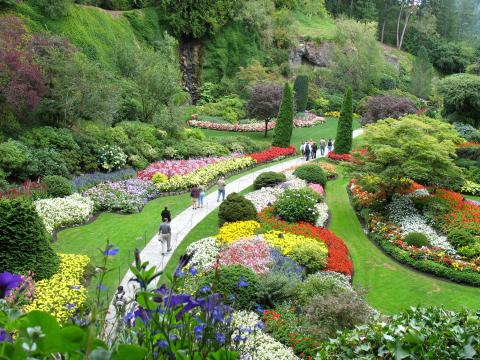 Canada_Victoria_Butchart_Gardens_shutterstock_13461382