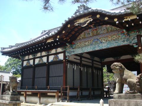 L 御香宮神社