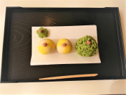 Wagashi making experience in Kyoto