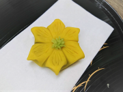 Japanese wagashi flower shaped