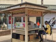 LOHA樂活夏威夷-Waikele Outlet4-接駁車票販賣亭