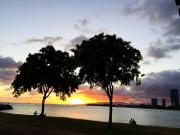 SHAKA夏咖夏威夷-海濱浪漫夕陽2