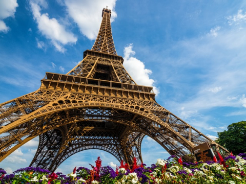France_Paris_Eiffel tower_Summer_shutterstock_221672650