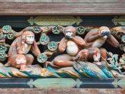 Japan_Tochigi_Nikko_Toshogu_Shrine_Monkeys_shutterstock_391350055