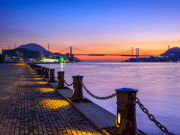 Japan_Fukuoka_Yamaguchi_kanmon_bridge_night_shutterstock_480325123