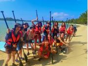 Marine activities in Ishigaki
