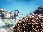 Snorkeling at Ishigaki Island, Okinawa