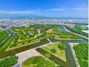 Japan_Hokkaido_Hakodate_Goryokaku Park_Summer_shutterstock_286644272