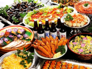 Fukui Wakasa Chidorien restaurant buffet