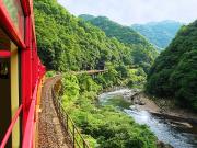 Japan_Kyoto_Arashiyama_Romantic_Train_Sagano_Scenery_shutterstock_56484667