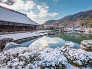 Tenryuji Temple winter