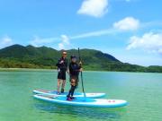 Kabira bay SUP in Ishigaki