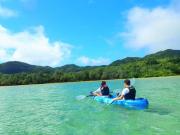 Kayak tours in Kabira Bay, Ishigaki Island Okinawa