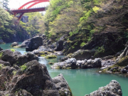 Takatsudokyo Gorge Watarase River