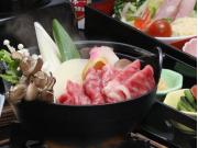 飛騨牛すき焼き (2)