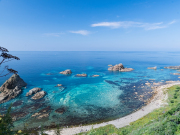 Hokkaido_Shakotan_Shimamui_Beach_shutterstock_726495865