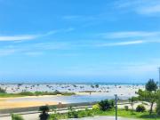 ホテルてぃだの郷からの眺望(佐和田の浜)