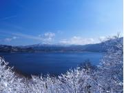 十和田湖 冬
