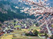 Japan_Gifu_Shirakawago_Village_Spring_shutterstock_451506487