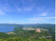 昭和新山と洞爺湖