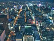 Japan_Hokkaido_Sapporo_night_view_from_JR_Tower_shutterstock_1417747025