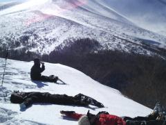 高峰山登頂スノーシュートレッキング 八ヶ岳、富士山を望む!<12〜4月/半日/小学生以上参加可/小諸市>