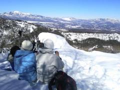 高峰山頂からの景色が最高・・・!