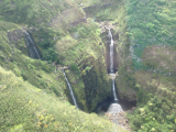 Molokai waterfalls
