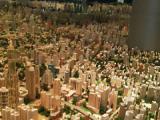 上海城市規劃展示館展示の2020年の上海市中心部模型