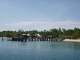 潜水艦から撮影したマナ島