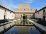 ナスル朝宮殿のアラヤネスの中庭