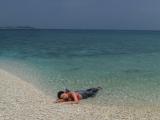 サンゴでできた島 バラス島