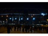 ローマのスタジアム。巨大さに驚きました。