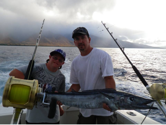 Start me up lahaina sport fishing tours shared private for Start me up fishing
