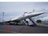 航空博物館のコンコルド