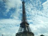 船から見たエッフェル塔