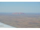 ケアンズからの飛行機の窓から。