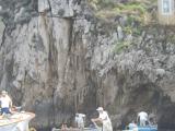 洞窟に入る直前