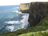 Cliffs of Moher, amazing view. Especially left hand side walk is quite nice.