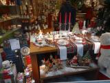 ストラスブ-ル大聖堂前の陶器屋さん