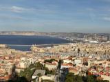 マルセイユ大聖堂からの眺め