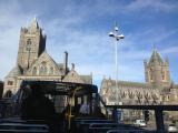 街のシンボルのクライストチャーチ大聖堂