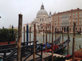 Our gondolas waiting for us