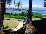Snorkelling and hammocking - couldn't get any better!