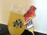 ファンタレモンとビールのハーフ→名前は忘れてしまいましたが、とても飲みやすかった!