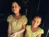 モン族の少女たち