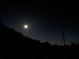 山頂で星空も見えるし...と思いましたが、この日は月が明るすぎました。