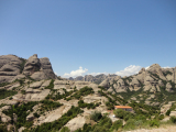 Go up to the top of Montserrat by Sant Joan funicular